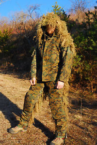 Custom Handmade Military Sniper Ghillie Suit Scout Sniper