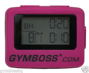 NEW-HOT-PINK-GYMBOSS-INTERVAL-TIMER-AND-STOPWATCH-STRAIGHT-FROM-GYMBOSS-HQ