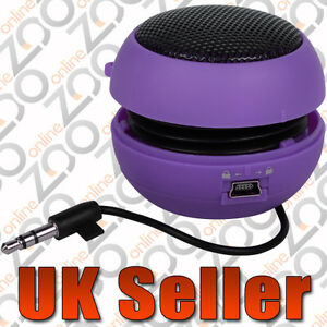 PURPLE-PORTABLE-MINI-MOBILE-PHONE-SPEAKER-POD-FOR-BLACKBERRY-8520-9300-CURVE-MP3