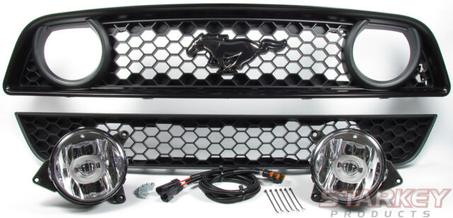 2013 MUSTANG GT-STYLE LED FOG LIGHT CONVERSION KIT - FITS V6 & CALI SPECIAL