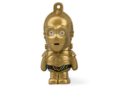 The Cool Star Wars 3CPO Robot Than 8 GB USB Stick With Keychain