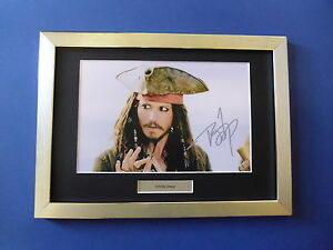 Johnny-Depp-signed-autograph-photo-Framed