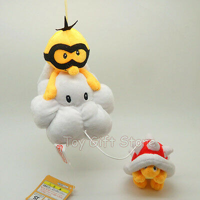 New Super Mario Bros. Plush Doll Stuffed Toy LAKITU SPINY