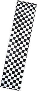 "PRO SKATEBOARD GRIP TAPE CKECKER BLACK/WHITE GRAPHIC 33""X9"""