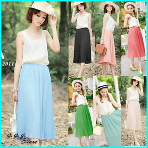 Hot-Summer-Vest-Dress-Full-Lace-Pleated-Chiffon-Dress-Bohemian-Beach-Skirt-09