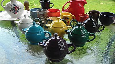 FIESTA WARE SMALL 2 CUP TEAPOT TEA POT evergreen