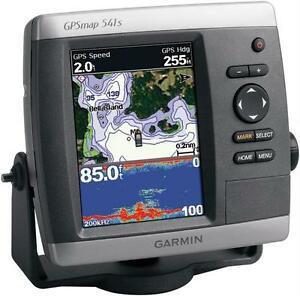 Garmin-Gpsmap-541s-GPS-Receiver-and-tranducer-kit-brand-new