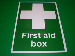 First-Aid-Box-A5-Self-Adhesive-Sticker-Accident-Emergency-Silk-Screen-Printed