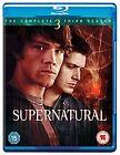 Supernatural - Series 3 - Complete (Blu-ray, 2008, 3-Disc Set, Box Set)