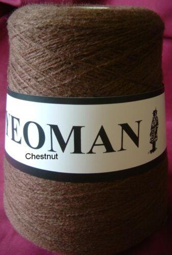 Yeoman cinquante cinquante 50//50 Fil Laine Acrylique Mix 3ply 350 G Cônes machine à tricoter