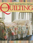 Fast Favorites from McCall's Quilting by Martingale & Company (Paperback, 2010)