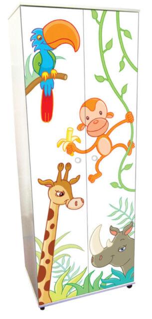 Animal Design Childrens/Kids Bedroom Wardrobes