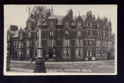 Lincs SKEGNESS Pier Hotel 1920 RP PPC