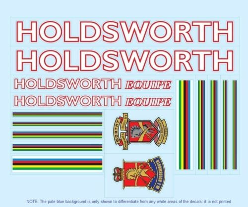 Holdsworth Bicycle Decals-Transfers-Stickers #4