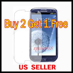 Samsung-Galaxy-S-III-S3-i9300-Clear-LCD-Screen-Protector-Guard-Shield-Film