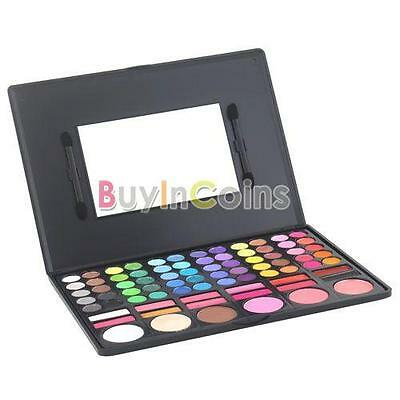 Party Hot 78 Color New Woman Girl Makeup Eyeshadow Palette Blush Gloss Set RTUS#