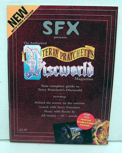 SFX Presents TERRY PRATCHETT'S DISCWORLD MAGAZINE Complete Guide with Poster