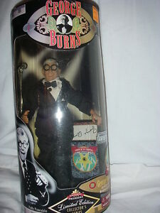 GEORGE-BURNS-MATURE-LIMITED-EDITION-ACTION-FIGURE-DOLLWITH-DISPLAY-STAND-NEW