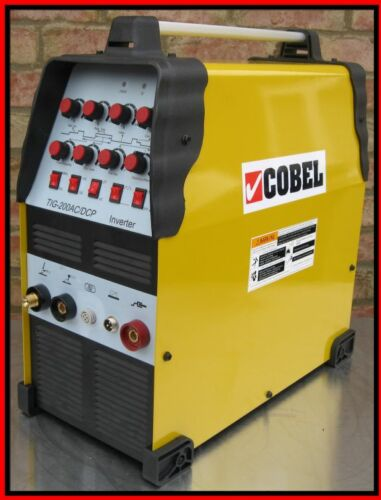 TIG 200AMP AC/DC PULSED INVERTER WELDING MACHINE WELDER