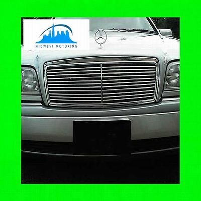 1994-2000 MERCEDES C CLASS CHROME TRIM FOR GRILL GRILLE W/5YR WARRANTY W202