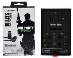 Munitio-Call-of-Duty-Modern-Warfare-3-Billets-LN-9mm-Earphones-Headset-COD-MW3