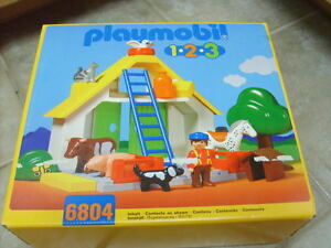 PLAYMOBIL 6804 Farm Animals SEALED Never Opened