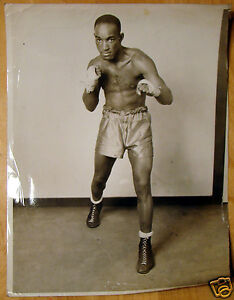 Original-8X10-Sterling-Six-Second-Powell-Publicity-Boxing-Photo