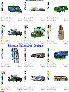 New Windmill Designs Embroidery Design RV There Yet 188 Inches H X 410