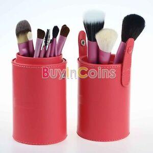 13-Piezas-Maquillaje-Cepillo-De-Rubor-en-Polvo-Pelo-de-Cabra-Conjunto-de-Pinceles-con-estuche-hkus