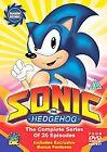 Sonic The Hedgehog (DVD, 2007, 4-Disc Set, Box Set)
