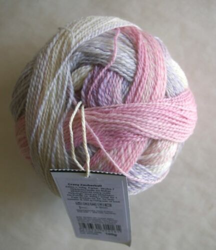 Zauberball CRAZY Sock Yarn 100g ball Selected Colors