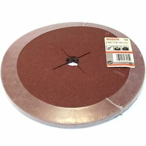 10-BOSCH-FIBRE-SANDING-DISCS-235MM-80G-FOR-230MM-9-034-ANGLE-GRINDER-GERMANY