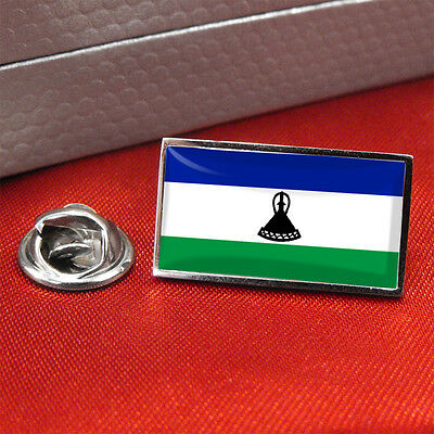 Lesotho Flag Lapel Pin Badge/Tie Pin