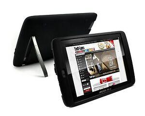 Tuff-Luv-Tuff-Skin-Silicone-case-cover-for-Archos-80-G9-8GB-16GB-Flash-blk