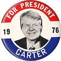 1976-Jimmy-Carter-FOR-PRESIDENT-Classic-Campaign-Button
