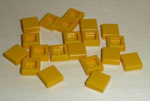 yellow Nr.6502 Lego 3070b Einer 20 Fliesen 1x1 in gelb