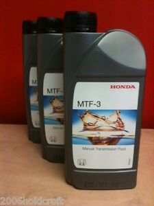 genuine honda mtf 3 gearbox oil 3 litres civic integra. Black Bedroom Furniture Sets. Home Design Ideas