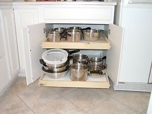 Pull out shelves that slide 22 x 24 cabinet sliding for 22 deep kitchen cabinets