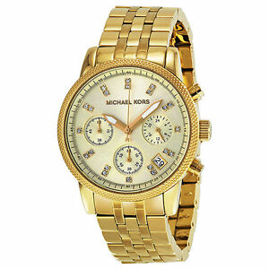 Michael Kors Chronograph MK5676 Wrist Watch for Women and Women   eBay 8a9d00fa4f