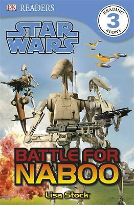 """""""AS NEW"""" Star Wars Battle for Naboo (DK Readers Level 3), DK, Book"""