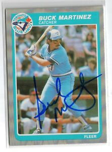 1985-FLEER-BASEBALL-114-BUCK-MARTINEZ-BLUE-JAYS-AUTO-SIGNED-CARD