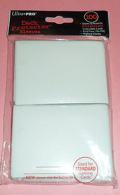 Ultra Pro 100 Deck Protector WHITE CARD SLEEVES for mtg Magic the Gathering