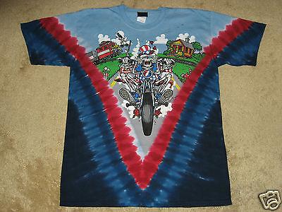 Grateful Dead Moto Sam M, L, XL, 2XL Tie Dye T-Shirt