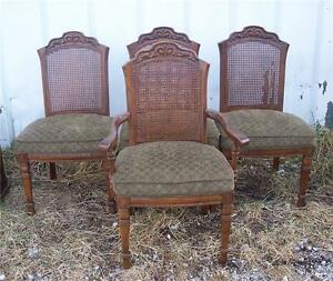 Set-of-4-Caned-Back-Oak-Burlington-Chairs-Dinette-Chair-DC47
