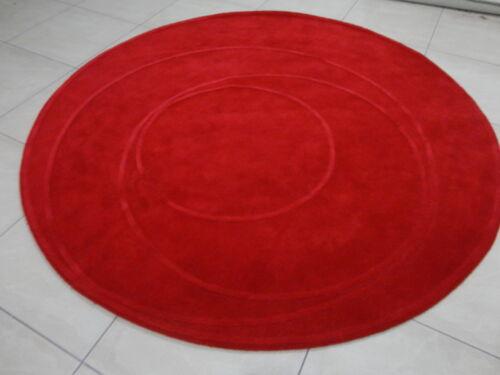 Indian Hand Tufted 7'.6'' Round Modern Designer Wool Carpet Rug Alfombras Hali