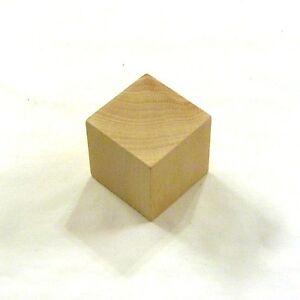 8 wood blocks 2 inch 2 unfinished cubes ebay. Black Bedroom Furniture Sets. Home Design Ideas