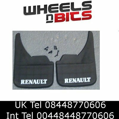 Renault Logo Universal Car Mudflaps Front Rear 5 9 11 19 21 25 Mud Flap Guard