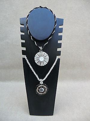 B-Ware Ketten Halsketten Ständer Display Holz Schmuck Büste Schmuckständer