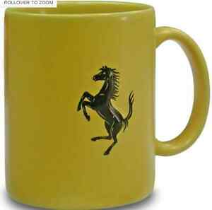 Ferrari-Yellow-Coffee-Mugs