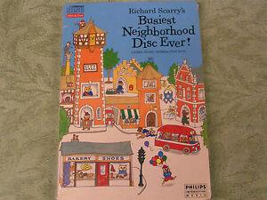 Richard-Scarry-039-s-Busiest-Neighborhood-Disc-Ever-Phillips-CD-i-Sealed-NEW